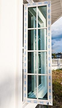 หน้าต่างบานเปิดลูกฟัก Vignet uPVC