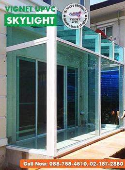 ห้องกระจก Vignet uPVC Skylight 1
