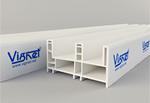 หน้าต่างบานเลื่อน Vignet uPVC สำหรับบริษัทรับสร้างบ้านและผู้รับเหมา