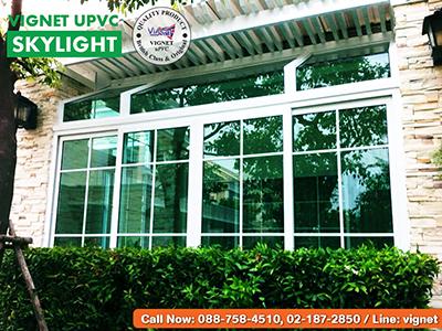ห้องกระจก Skylight Vignet uPVC