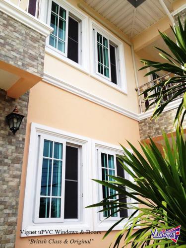 003 Vignet uPVC French Sliding Windows
